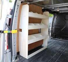 What is a van racking system